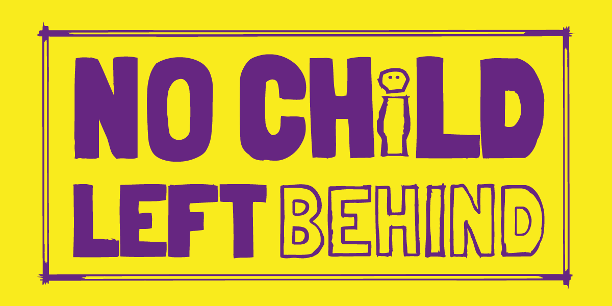 NoChildLeftBehind_yellowbackground